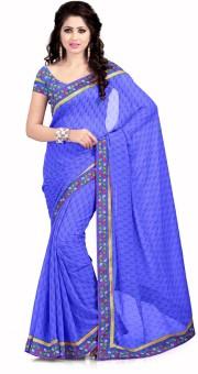 Vatsal Silk Mills Printed Daily Wear Chiffon Sari