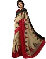Bhavi Printed Art Silk Sari