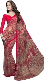 Roop Kashish Printed Fashion Georgette Sari