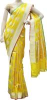 Bhavish Printed Embellished Silk Sari