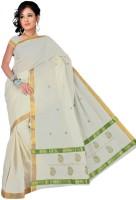 Pavechas Floral Print Cotton Sari