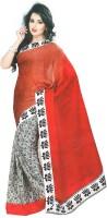 Bhavi Printed Embellished Crepe Sari