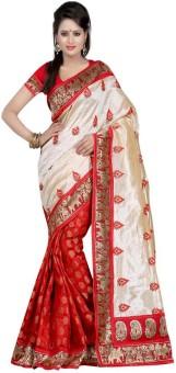 Mamta Sarees Printed Chanderi Chanderi Sari