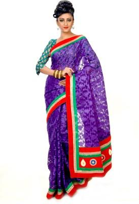 Indian Saree Mandir Printed Brasso Sari available at Flipkart for Rs.2800