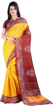 Jheel Sarees Self Design Bollywood Handloom Art Silk Sari