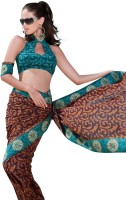 Seymore Striped Synthetic Sari