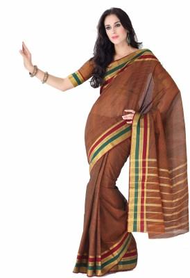 Ishin Floral Print Cotton Sari available at Flipkart for Rs.891