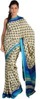9rasa Printed Crepe Sari