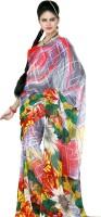 Saree Swarg Printed Georgette Sari