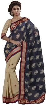 Bahubali Sarees Floral Print Fashion Jacquard Sari