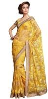 Ethnic Dukaan Solid Net Sari