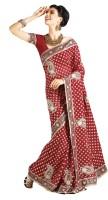 Samyakk Printed Georgette Sari