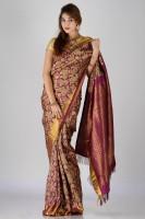 Bhavish Solid Silk Sari