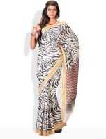 Urban Vastra Floral Print Cotton Sari