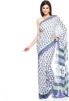 Aapno Rajasthan Floral Print Cotton Sari - SARDVX3YAFV9GPJA