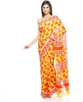 Aapno Rajasthan Floral Print Cotton Sari - SARDVX3F3YVVSPJZ