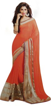 Tulsi Nx Self Design Fashion Georgette Sari