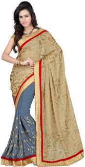 Sareeka Sarees Floral Print Bollywood Georgette Sari