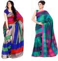 Sunaina Printed Cotton, Silk Sari - SARDTX45ZXPZGQKY