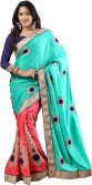 Saree Sansar Embriodered Daily Wear Crepe Sari