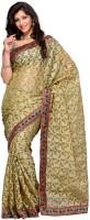 Mehak Floral Print Brasso Sari