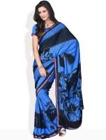 Manvi Printed Synthetic Sari
