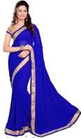 Sourbh Sarees Self Design Embroidered Georgette Sari
