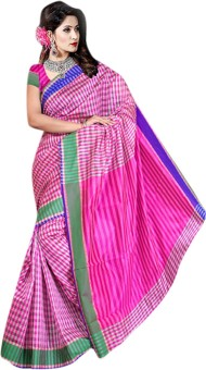 Sunita Sarees Self Design Assam Silk Art Silk Sari