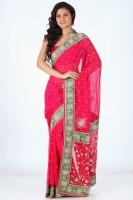 Sareez Printed Chiffon Sari
