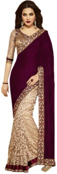 Shree Parmeshwari Embriodered Bollywood Art Silk, Brasso Sari