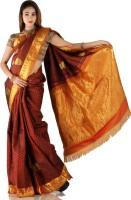 Bhavish Printed Silk Sari