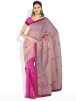 Dori Solid Cotton Sari