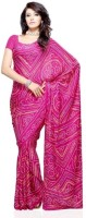 Dealtz Fashion Printed Silk, Crepe Sari