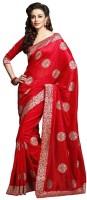 Ethnic Dukaan Printed Art Silk Sari