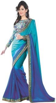 Sunita Sarees Plain Bhagalpuri Silk Sari