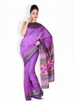 Boondh Silk, Synthetic Sari