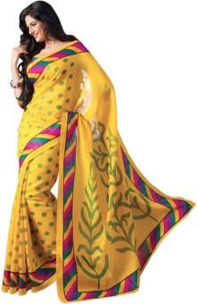Welcome Fashion Printed Bhagalpuri Handloom Art Silk Sari