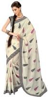 Ethnic Dukaan Printed Chanderi Sari