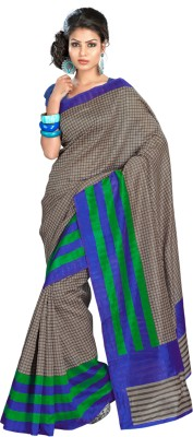 Triveni Printed Daily Wear Art Silk Sari