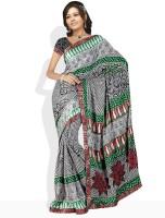 Dori Striped Synthetic Sari
