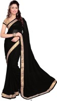 Sourbh Sarees Self Design Embroidered Georgette Sari