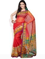 Tamanna Fashions Striped Cotton Sari