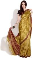 Fabindia Printed Silk Sari