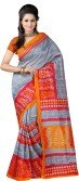 Fancy Sarees Printed Rajshahi Silk Sari