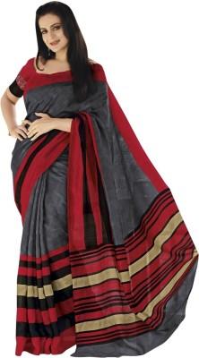 Triveni Printed Art Silk Sari
