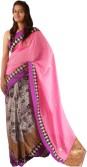 Saree Studio Self Design Bollywood Handloom Cotton Sari
