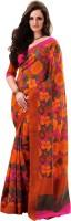 Saree Swarg Solid Art Silk Sari