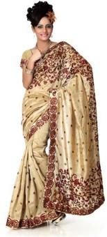 Sareeka Sarees Embriodered Bollywood Silk Sari