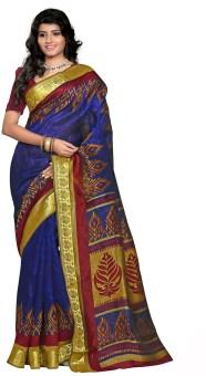 Fashiondodo Printed Bhagalpuri Art Silk Sari