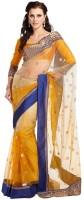 Ethnic Dukaan Printed Net Sari
